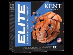 "E122L208 Kent Cartridge Elite Low Recoil - Training 12 Gauge 2.5"" 3/4 oz 8 Shot"