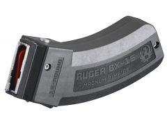 90585 Ruger 77 Series BX-15 22 Mag, 17 HMR Magazine - 15 Round (Polymer)