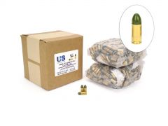 US Cartridge CleanBarrel Remanufactured 9mm 115 Gr Green TPJ (Bulk)