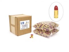 USCR9115TPJR-1000-BULK US Cartridge CleanBarrel Remanufactured 9mm 115 Gr Red TPJ (Bulk)