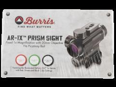 Burris Ar-1x, Bur 300214 Ar-1x      Prism Trplr 1x20 Bal Cq