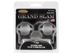 Weaver Mounts Grand Slam, Weav 49303 Grandslam Rings 1in Med Mat