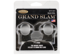 Weaver Mounts Grand Slam, Weav 49307 Grandslam Rings 1in Xhi Mat