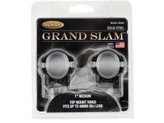 Weaver Mounts Grand Slam, Weav 49302 Grandslam Rings 1in Med