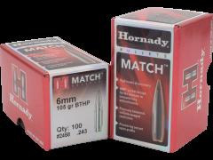 Hornady Match, Horn 2279  Bull .224  75 Bthp-m                100