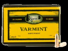 Speer Bullets Varmint, Speer 1053 Bull .224  70 Smsptz    100