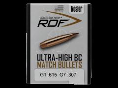 Nosler Rdf, Nos 53505 Rdf Match 6.5mm 130 Hpbt  100