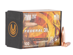 Federal Fusion Component, Fed Fb284f4     Bull .284 175fus       100/4