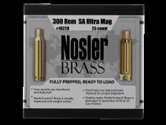 Nosler Brass, Nos 10228 Custom Brass 300 Rem Sa Um            25
