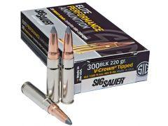 Sig Sauer Elite Hunting 300 Blackout 205 Grain Open Tip (Box)