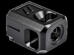 Zev Pro V2, Zev Comp-pro-v2-b   Pro Compensator 1/2x28 9mm Blk