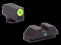 Ameriglo I-dot, Amer Gl305  Tritium Glk 42/43 Grn/grn