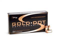 Speer Gold Dot .380 ACP 90 Grain HP Case 53606-CASE