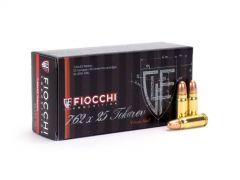 Fiocchi 7.62 x 25 Tokarev 85GR FMJ