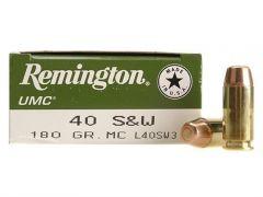 Remington .40 S&W 180 Grain FMJ