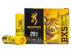 "B193112021 Browning BXS 20 Gauge 2 3/4"" 1 oz Solid Copper Tipped Slug"