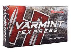 8337 Hornady Varmint Express 22-250 Rem 55 GR V-Max