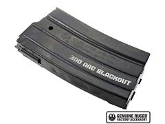 RUG-90484 Ruger Mini-14 300 Blackout Magazine - 20 Round (Steel)