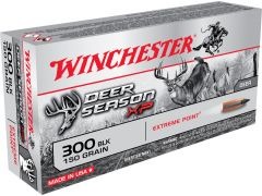 X300BLKDS Winchester Deer Season XP 300 Blackout 150 Gr Extreme Point