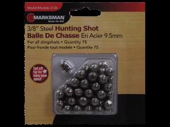 Marksman Slingshot, Mrk 3138  3/8in Steel Shot          75