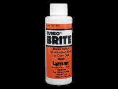 Lyman Turbo, Lym 7631358 Turbo Brite Brass Pol 4 Oz