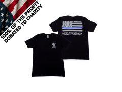 Ammunition Depot - LE Flag T-Shirt