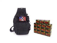 7.62X39-TACSLING-UL076201-BLACK RTAC 7.62x39 Tactical Sling Pack - TulAmmo UL076201 (Black)