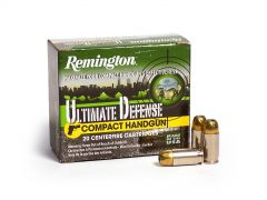 Remington Ultimate Defense .380 ACP 102 Grain BJHP Case CHD380BN-CASE