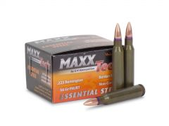 MTES223 MAXXTech Essential Steel 223 Remington 56 Grain FMJBT