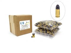 USCR9115TPJBK-1000 US Cartridge CleanBarrel™ Remanufactured 9mm 115 Gr Black TPJ (Bulk)