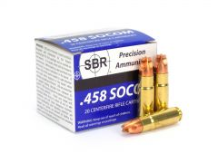 SBR .458 Socom 250 Gr Xtreme Defense (Box)