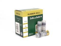 "Sellier & Bellot 12 Ga 2-5/8"" 17.5mm Rubber Slug (Box)"