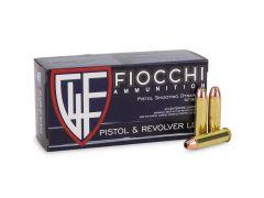 FIO357E Fiocchi Shooting Dynamics 357 Magnum 50 Rounds 148 Grain JHP Ammo
