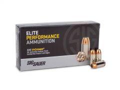 E45AP1-50 Sig Sauer Elite V-Crown 45 ACP 50 Rounds 200 Grain JHP Ammo