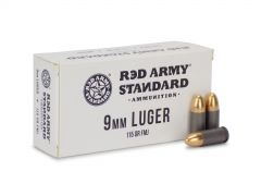 Red Army Standard 9mm 115 Grain FMJ (Box)
