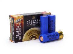 "Federal LE 12 Gauge Ammo 2-3/4 Tactical TruBall Deep Penetrator Rifled Slug Case LEB127DPRS-CASE"""