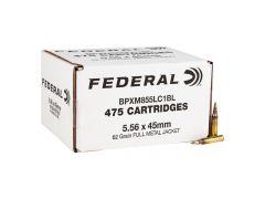 BPXM855LC1BL Federal 5.56 NATO 62 Grain M855 Green Tip FMJ