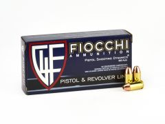 Fiocchi .380 ACP 90 Grain JHP Case FIO380APHP-CASE
