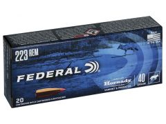 Federal Varmint & Predator 20 rounds 223 Remington 40 Grain V-MAX Ammo