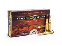 Federal Gold Medal 6.5 Creedmoor 130 Grain Berger Hybrid OTM