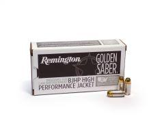 Remington Golden Saber .380 ACP 102 Grain BJHP Case GS380BB-CASE