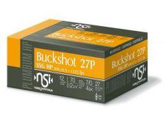 """NANS124BK10 Nobel Sport 12 Gauge 2.75"""" 27 Pellet 4 Buck"""