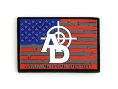 Ammunition Depot Morale Flag Patch