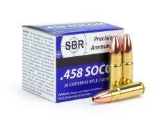 SBR .458 SOCOM 350 Grain Barnes Lead-Free TSX JHP