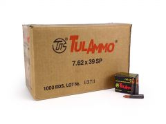 TulAmmo 7.62x39mm 154 Grain SP (Case)