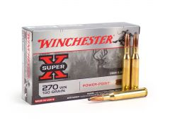 X2705-CASE Winchester Super-X .270 Win 130 Grain PP (Case)