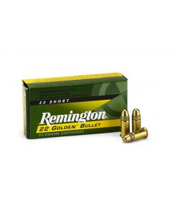 Remington .22 Short 29 Gr High-Velocity Plated LRN