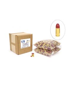 US Cartridge CleanBarrel™ 9mm 115 Gr Red TPJ (Bulk)