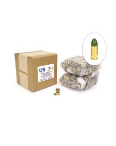 US Cartridge CleanBarrel™ Remanufactured 9mm 115 Gr Green TPJ (Bulk)