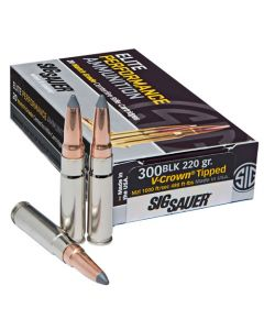 Sig Sauer Elite Hunting 300 Blackout 205 Gr Open Tip (Case)